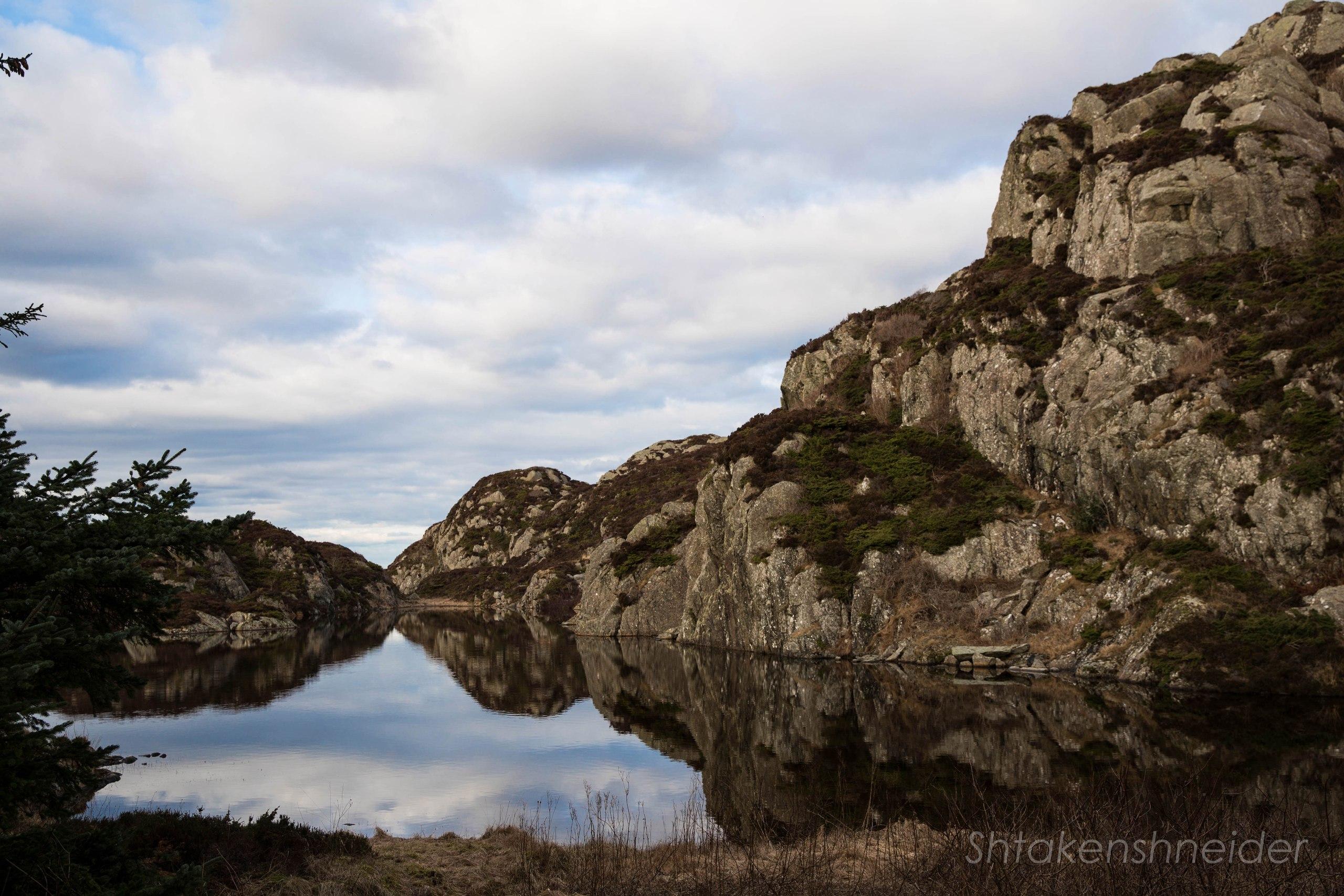 Остров Эспевер. Норвегия.