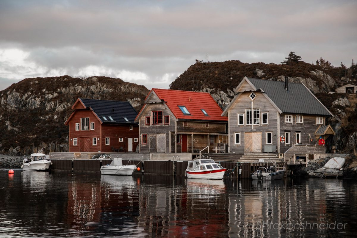 Эспевер, летние дачи норвежцев