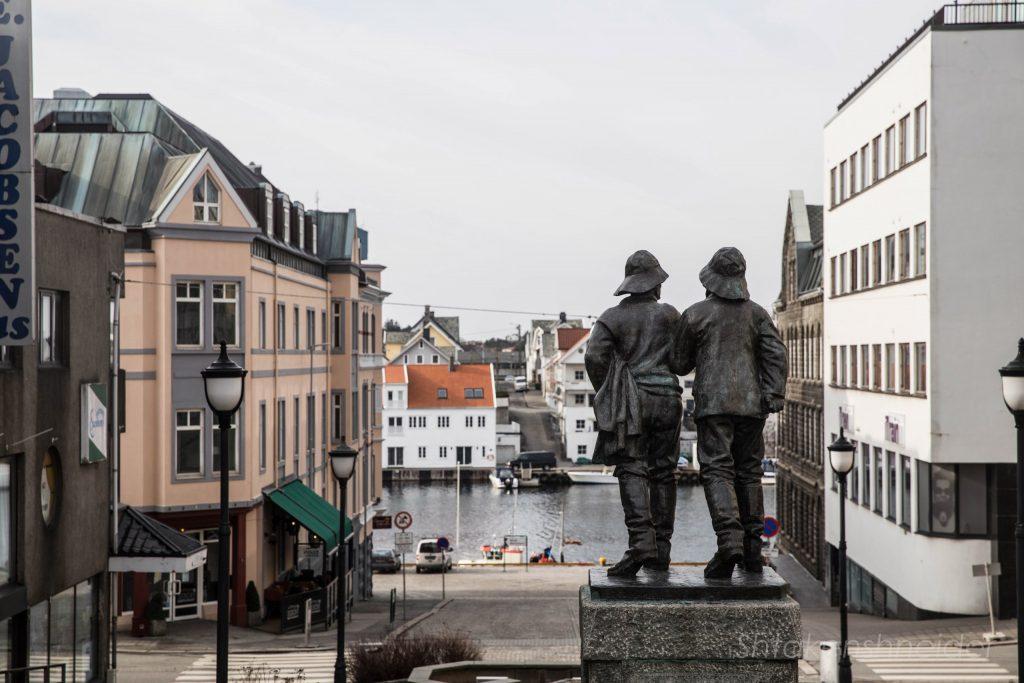 Хёугесунн, городская скульптура