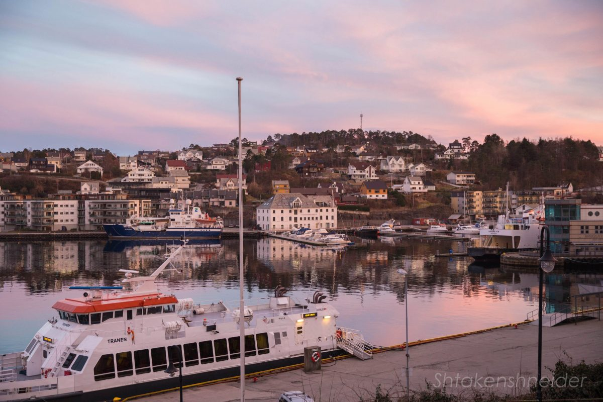 Город Лейрвик, Норвегия: скучно и дорого.