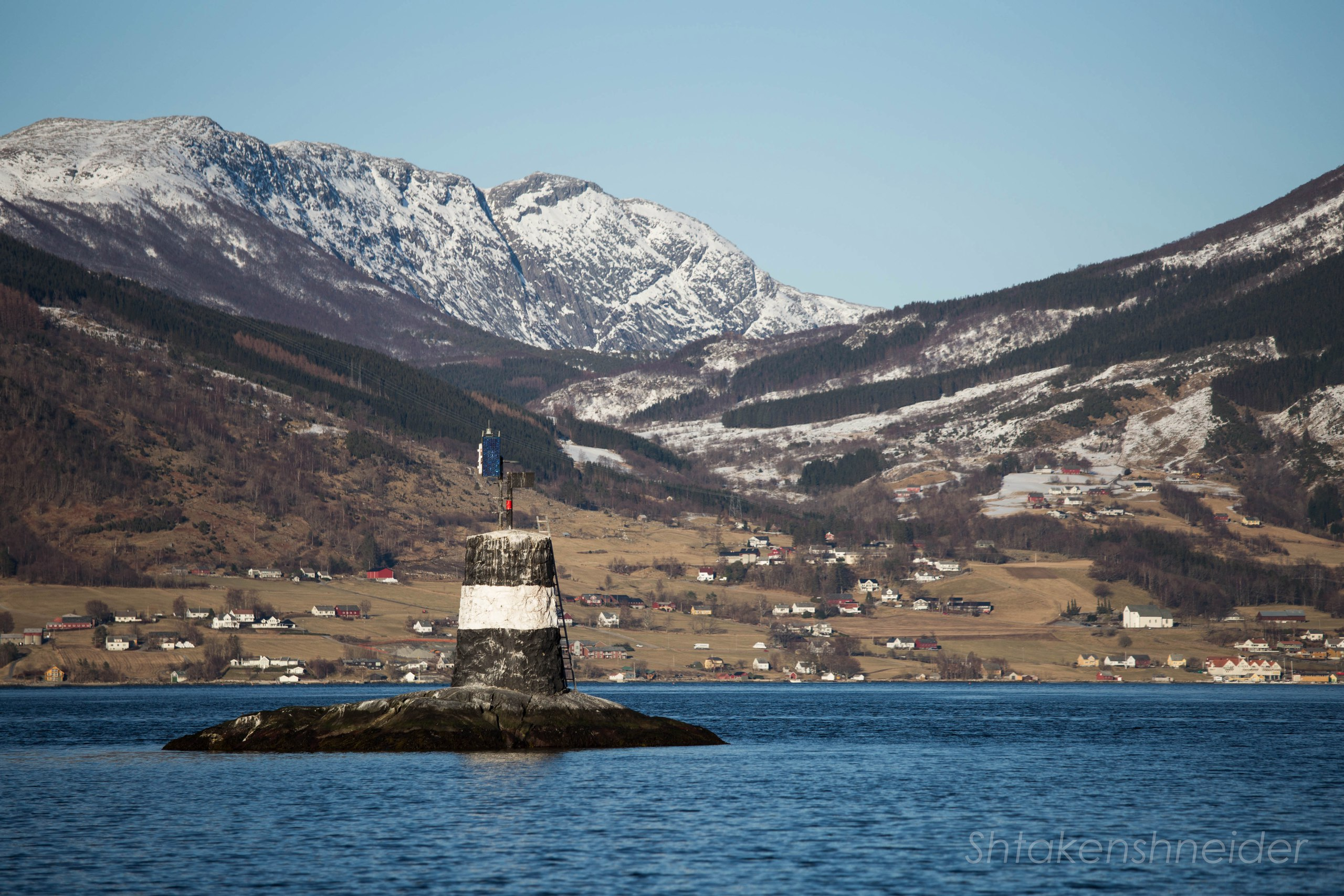 Фото Росендал, Норвегия. навигация