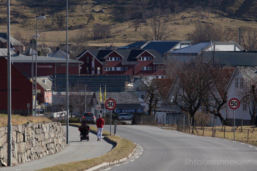 Улица Русендала, Норвегия