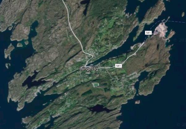 Лангевог (Бёмлу) на карте: фото