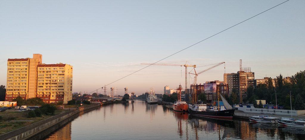 Утро в Калининграде