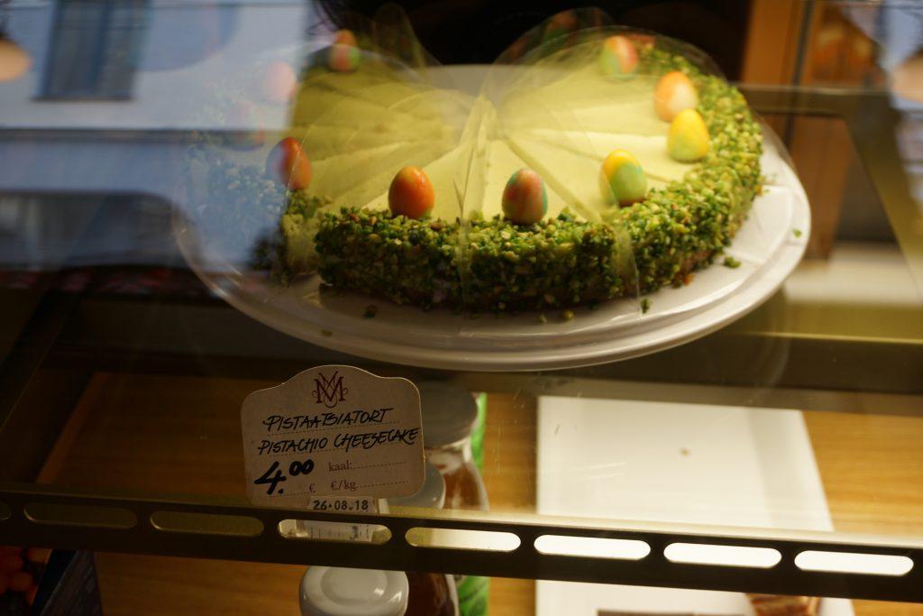 Лучший фисташковый торт в Таллине
