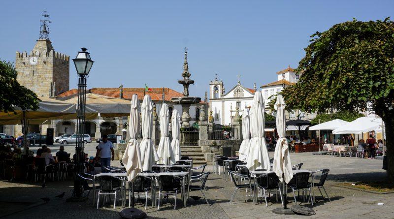 Португальский путь Сантьяго: Каминья (Португалия) на 4 день