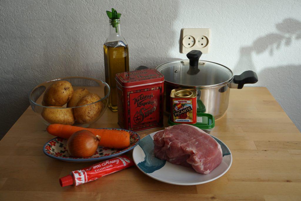 Рецепт венгерского гуляша с фото: вам потребуется