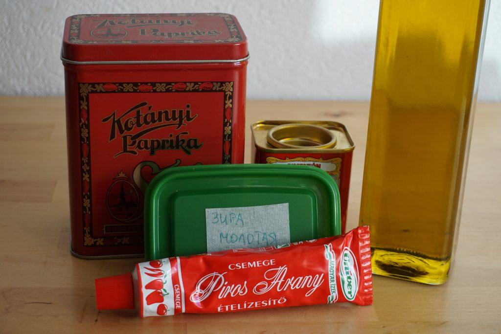Рецепт венгерского гуляша с фото: набор необходимых приправ
