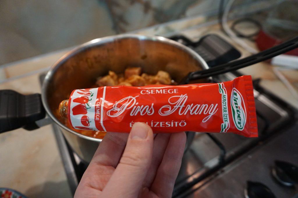 Рецепт венгерского гуляша с фото: добавляем пасту для гуляша