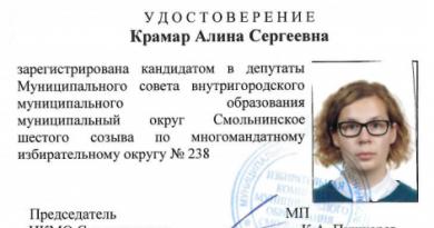Муниципальные выборы: удостоверение кандидата в депутаты