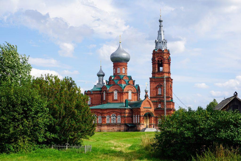 Ширков Погост: зимняя каменная церковь